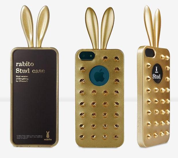 Gold Rabito Stud Case