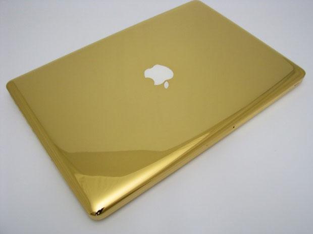 Golden MacBook Pro