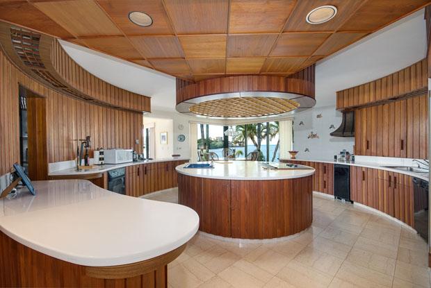 Luxury villa kitchen