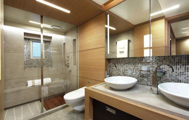 Petrus II bathroom