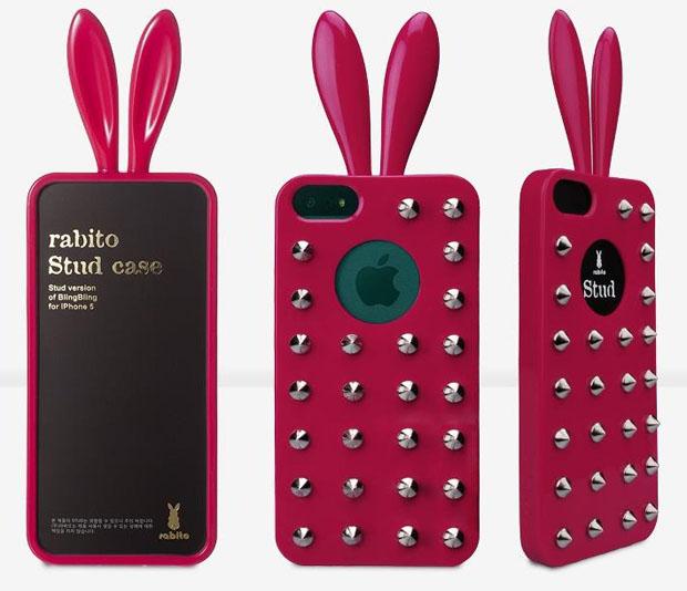 Pink Rabito Stud Case