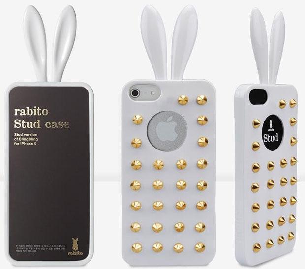 White Rabito Stud Case