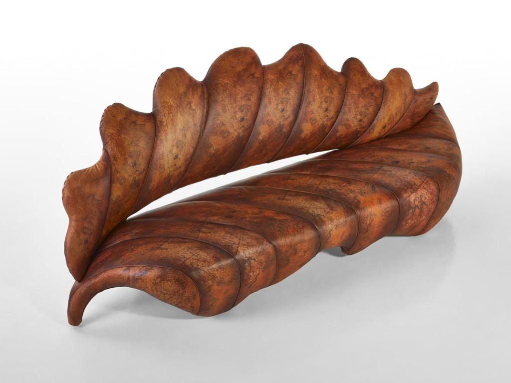 Caps-Sicis Brown Sofa