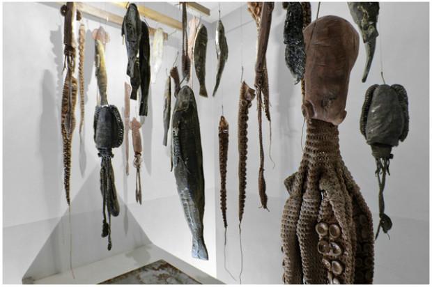 """Installation """"Garum Old Fish Market"""" by designer Johnny Hermann"""
