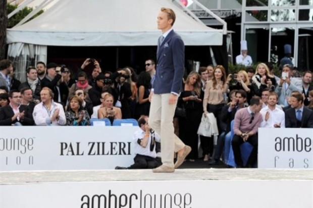 F1 Monaco 2013: luxury parade of Pal Zileri Amber Lounge Fashion with pilots