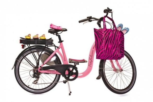 PrettyBallerinas limited edition: the electric bicycle fashionista by Yamimoto