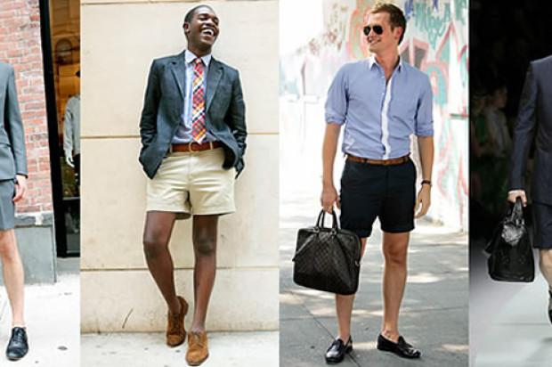 Summer Trend: Men's Short Suits