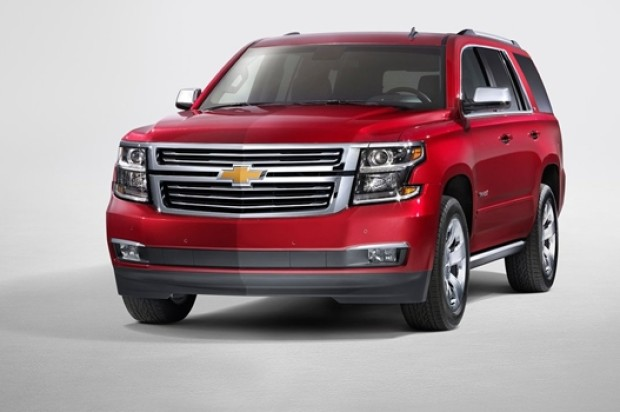 New Chevrolet Tahoe and Suburban MY 2015