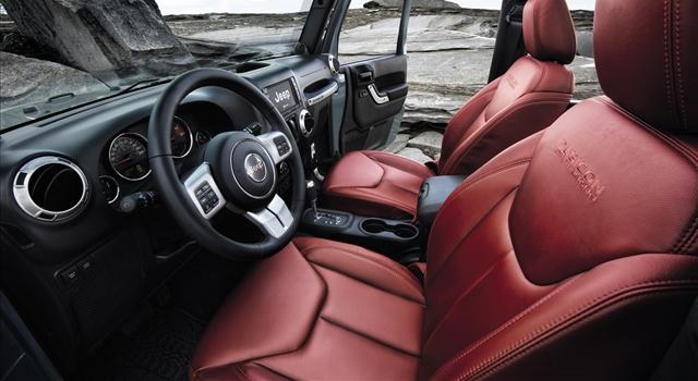 Jeep Wrangler Rubicon Interior