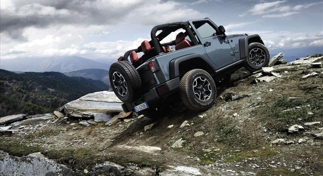 Jeep Wrangler Rubicon Rear View
