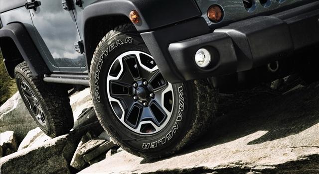 Jeep Wrangler Rubicon Wheels
