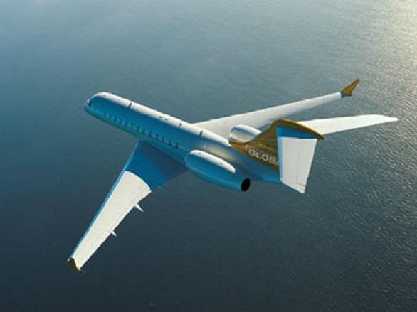 Bill Gates, Bombardier BD-700 Global Express
