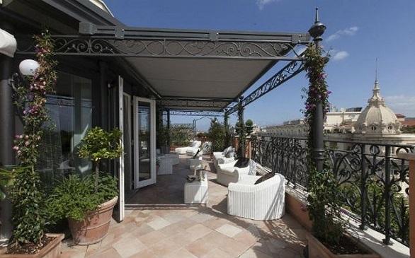 Roman Penthouse Suite, balcony
