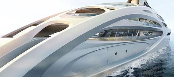 Futuristic ship