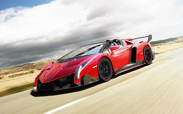 First place: Lamborghini Veneno Roadster