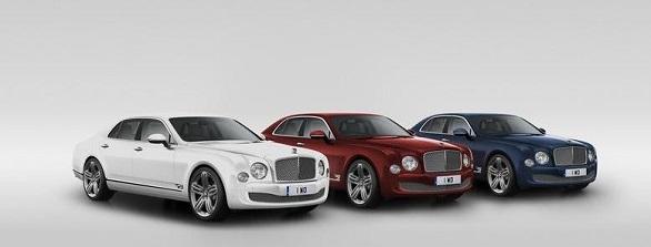 Bentley Mulsanne 95 special edition