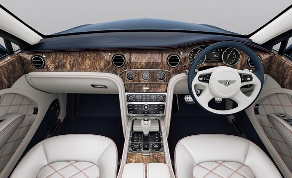 Bentley Mulsanne 95 special edition interior