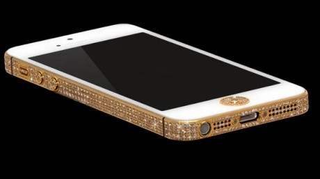 The Million Dollar iPhone | Made of pure gold and hundreads of diamonds