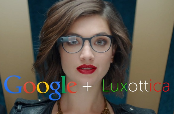 Luxottica and Google Glass