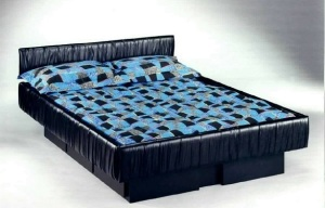 How it is to sleep in a waterbed
