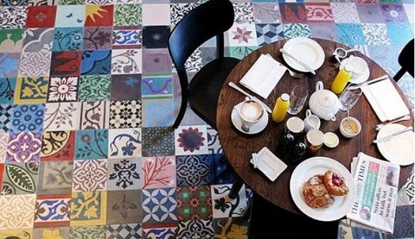 Patchwork breakfast
