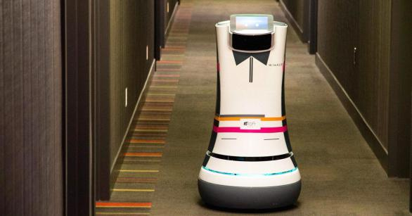 Aloft Hotel will let its robot butler take good care of you
