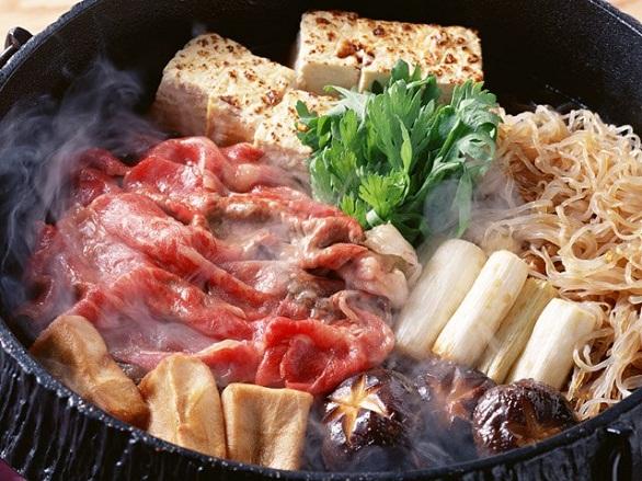 Sukiyaki style