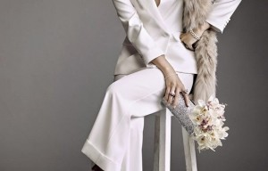 Would you dare to wear pants on your wedding day?