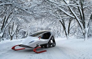 Snow Crawler | A futuristic snowmobile to stimulate your imagination