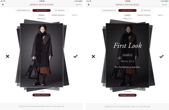 Moda Operandi app