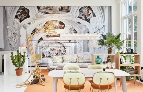 The most unique decoration in Moooi showroom| Amsterdam