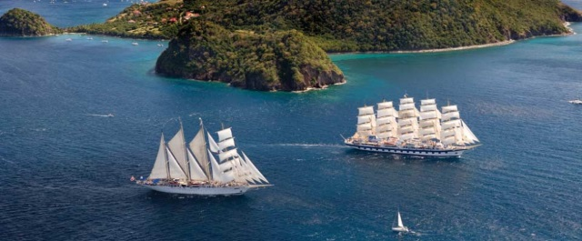 Two of the Star Clippers