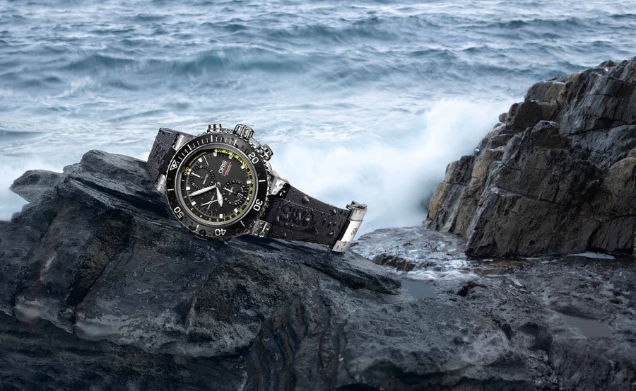 Oris Aquis Depth Gauge Chronograph