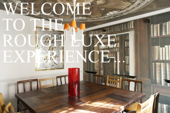 Rough luxe: a luxury home decor trend rough on the edges