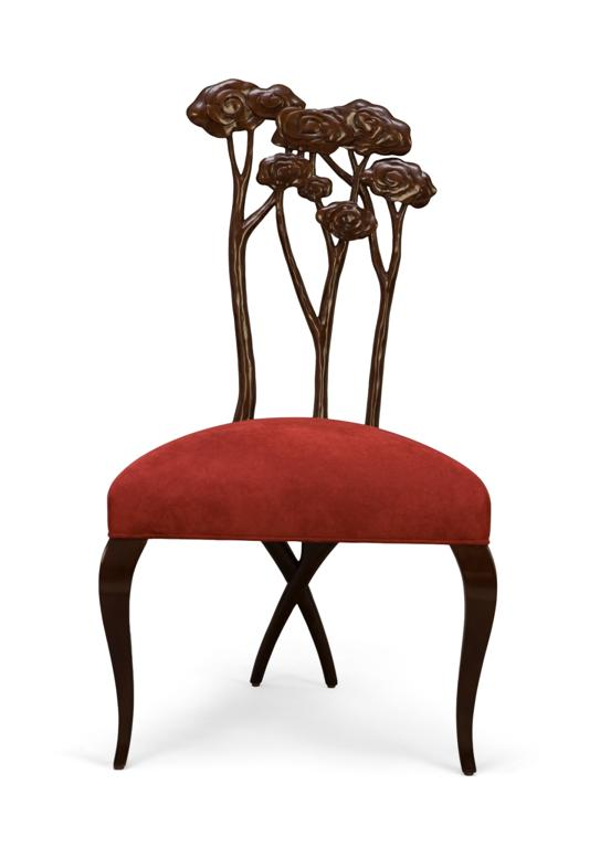 Christopher Guy presents his new collection of chairs Alice
