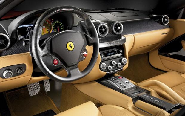 F12 Berlinetta interior