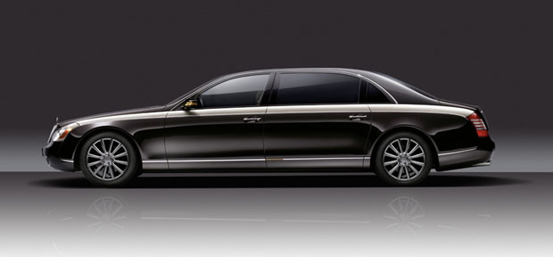 Maybach Zeppelin side view