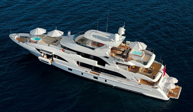 Luxury travel on the Yacht Benetti Classic Supreme 132