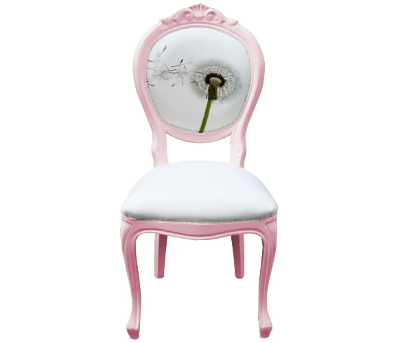 Pink Bespoke Dining Chair