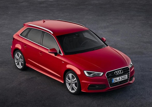 Audi A3 Sportback Front View