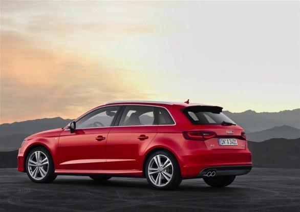 Audi A3 Sportback Side View