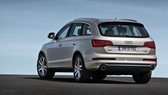 Audi Q8 Rear View