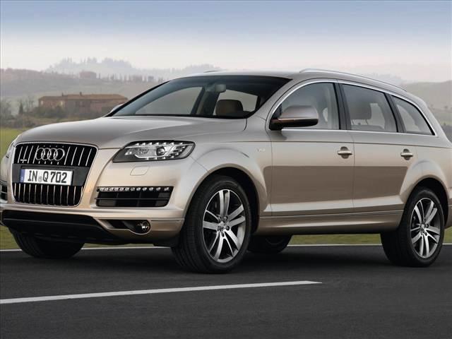 Audi Q8 Side View