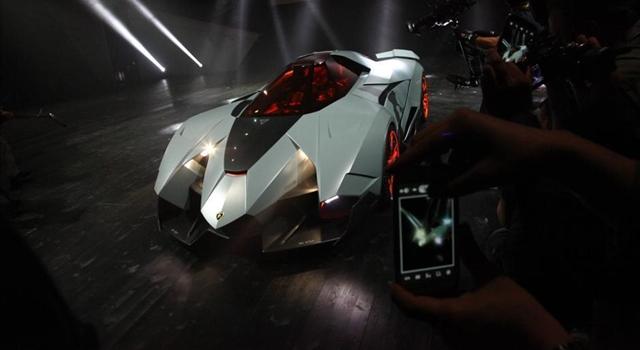 Lamborghini Egoista Concept Front View