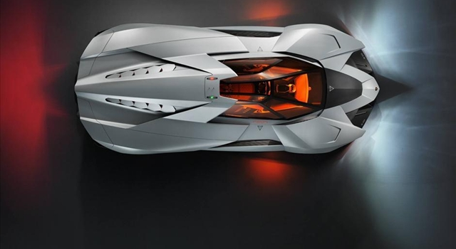 Lamborghini Egoista Concept Top