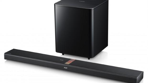 Bar Speaker Samsung HW-F750 valve | The first with Bluetooth
