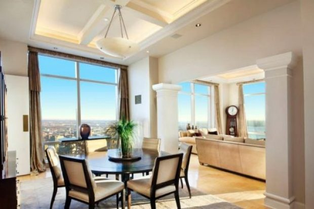 A very exclusive luxury apartment in New York