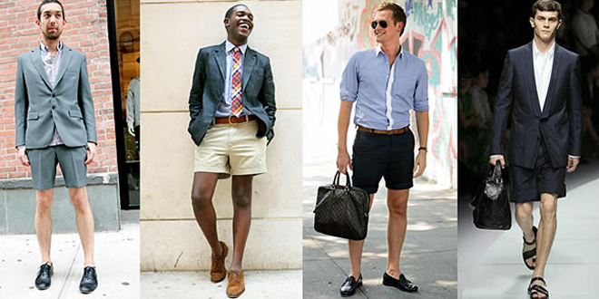 Summer Trend: Men's Short Suits