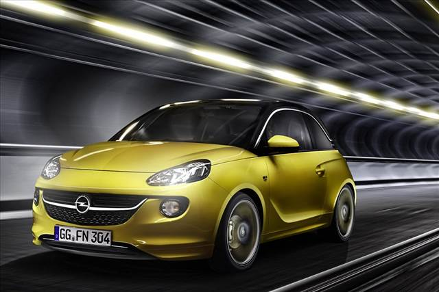 Opel Adam Front View