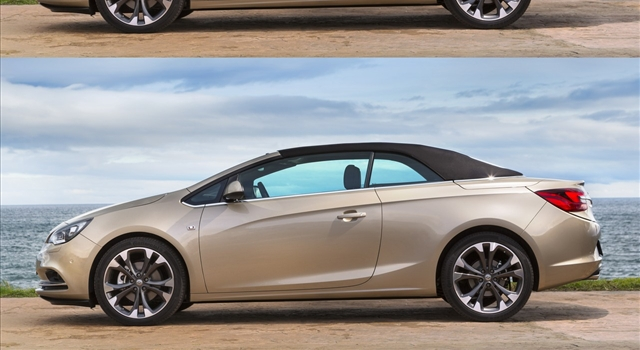 Opel Cascada Side View